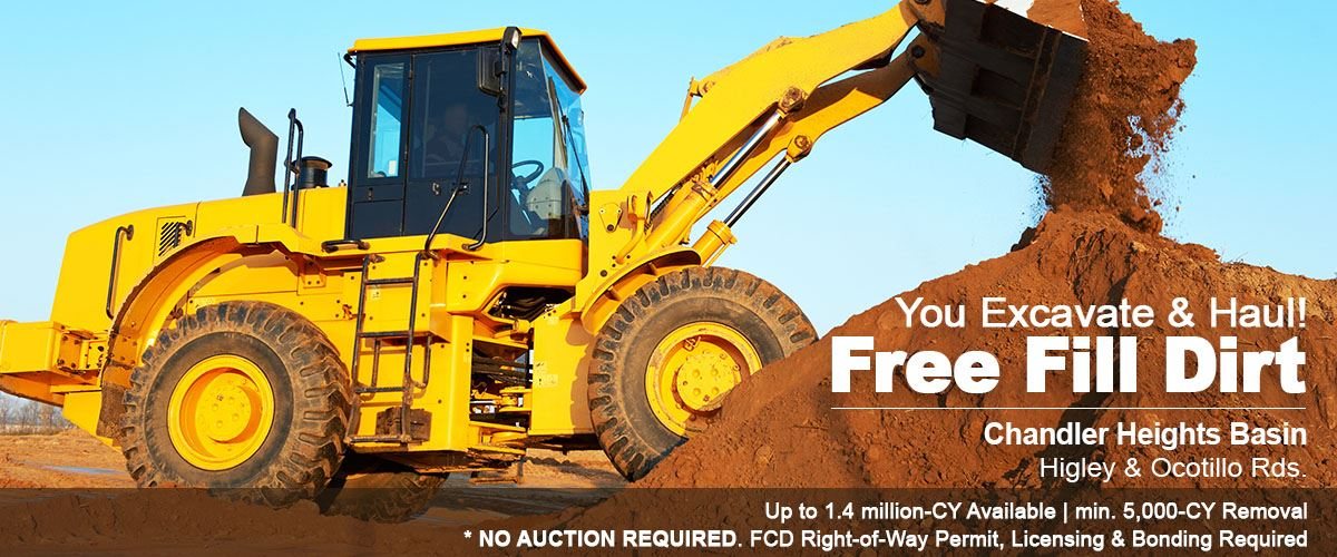 Free Dirt! You Excavate and Haul...